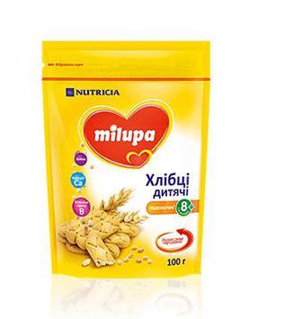 Хлібці пшеничні Milupa 100г