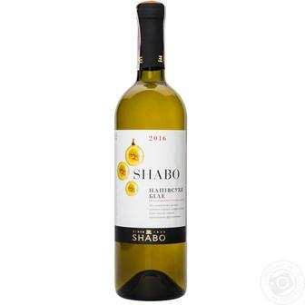 Вино Класика біле, червоне напівсолодке Шабо 0,75л