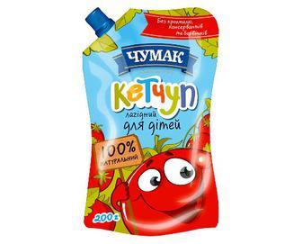 Кетчуп «Чумак» «Лагідний» для дітей, 200г