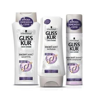 Засоби догляду за волоссям Зимовий Захист Gliss Kur
