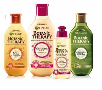 Скидка до 25% ▷ Засоби догляду за волоссям Botanic Therapy Garnier
