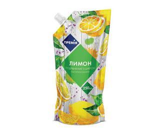 Лимон подрібнений з цукром, Премія, 250 г