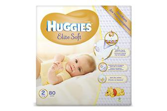 Підгузки  Huggies Elite Soft 3 (5–9 кг) 80 шт./уп