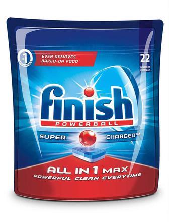 Засіб для посудомийних машин Finish 22 таблетки