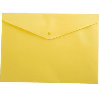 Папка-конверт А4 на кнопці, непрозора