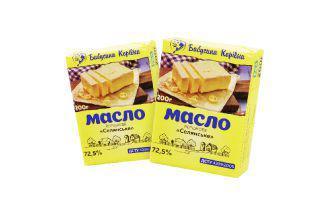Масло вершкове Селянське 72,5% жиру Бабусина Корівка 200 г