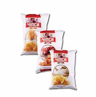 Чіпси картопляні  Фуршет  140г