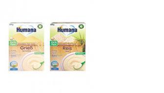 Детская каша, безмолочная органик, Humana, 200г