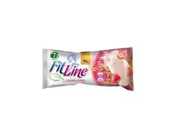 Морозиво FitLine» зі смаком полуниці та наповнювачем злаки Три ведмеді 80 г