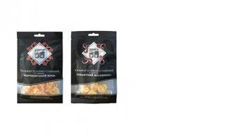 Кальмар солено-сушеный Королевский краб/Пикантный осьминог, MIX