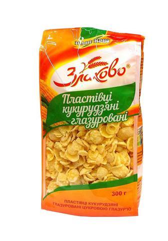 Пластівці Золоте Зерно кукурудзяні цукрові 300г