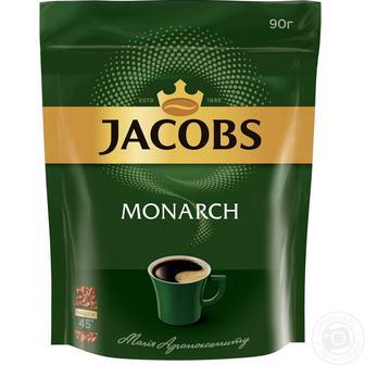 Кофе растворимый Якобз Монарх 90 г