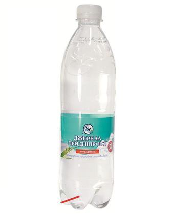 Вода мінеральна Джерела Придніпров'я 0,6л