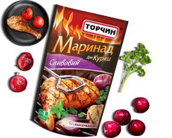 Маринад Торчин Сливовий 160мл