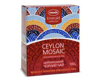 Чай чорний Ceylon Mosaic цейлонський «Премія»® 100г