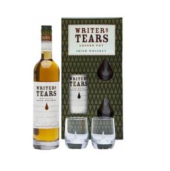Виски Writers Tears Irish Whiskey с 2 бокалами