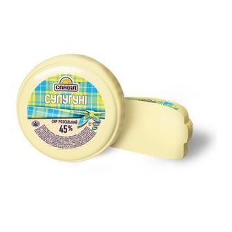 Сыр Славия Сулугуни 45%