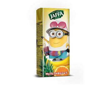 Нектар Jaffa Kinder Sponge Bob мультифрукт, 0,2 л