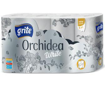Папір туалетний Grite Orchidea, 8 рулонів/уп