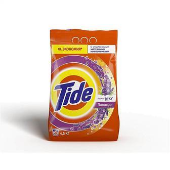 Порошок пральний автомат Альпійська свіжість або Color Tide 4,5 кг