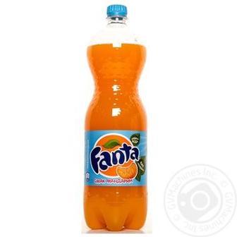 Напій Fanta, мандарин, 1.5л