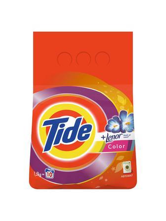 Стиральный порошок Tide Автомат Color Lenor Touch of Scent 1.5 кг