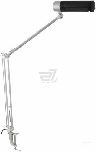 Настільна лампа офісна Accento lighting 1x20 Вт E27 чорний HD2001B