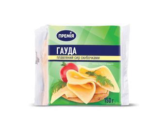 Сир плавлений «Гауда» «Премія»®,150 г