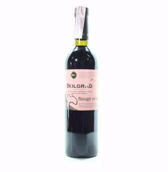 Вино  напівсолодке Руж Селект червоне, Шато де Він біле  Болград, 0,75 л