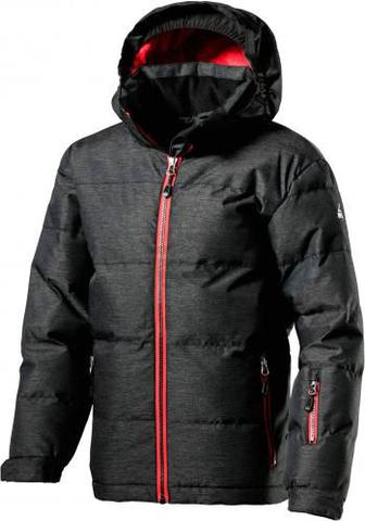 Куртка McKinley Troy jrs 267568-901911 116 сірий меланж
