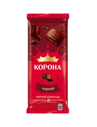 Скидка 20% ▷ Шоколад Корона чорн.85г