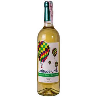 Винo Latitude Chile Sauvignon Blanc-Chardonnay 0,75л