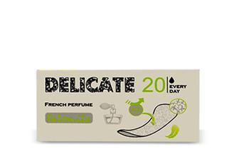 Прокладки щоденні Palomita Delicate French Perfume, 20шт./уп