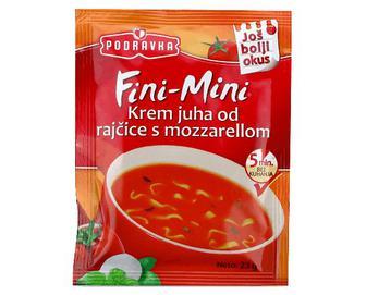 Суп Podravka, томатний з моцарелою, 23г