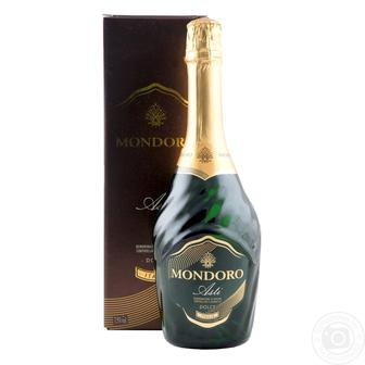 Шампанское Mondoro Asti коробка 0,75л