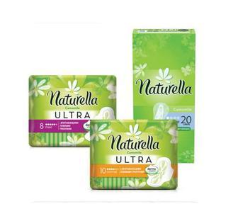 Прокладки для щоденної гігієни 20 шт для критичних днів 8 шт 10 шт Naturella