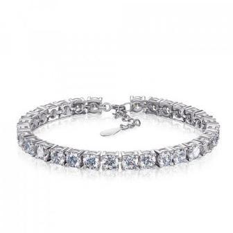 Срібний браслет з фіанітами. Артикул 1BR64602-B/12/1