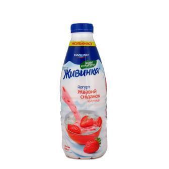 Йогурт   1.5%/2.5%  Живинка 850г