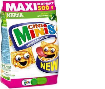 Сніданок готовий Nestle Cini Minis сухий, 500 г