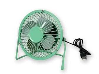 Міні-вентилятор працює від USB порту, потужність 3 Вт,