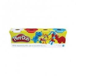 Набор для лепки Play-Doh из четырех баночек, Hasbro