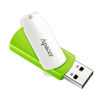Флешка USB FD Apacer 16Gb USB 2.0 (AH335) Green/White