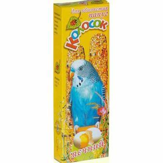 Колосок для папуги, 140 г, яєчний, бісквіт 2 од. Природа