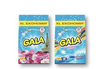 Скидка 26% ▷ Засіб миючий синтетичний Морська свіжість для кольорових речей / Французький аромат, порошок автомат «Gala» - 3,5 кг