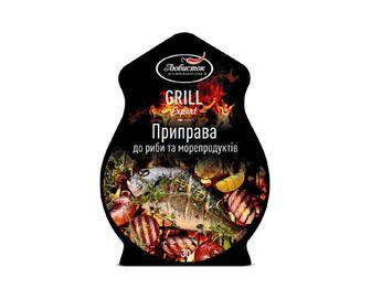 Скидка 44% ▷ Приправа «Любисток» Grill Expert до риби та морепродуктів, 30г
