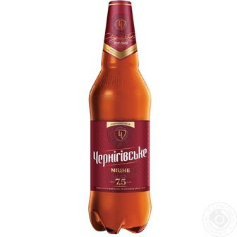 Пиво Міцне Чернігівське 1 л