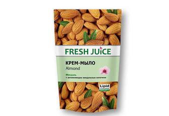 Крем-мило Almond з оліею мигдаля Fresh Juice 460 мл