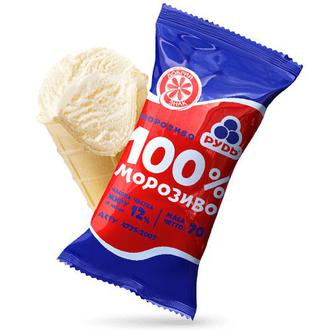 Морозиво Рудь 100% 70г