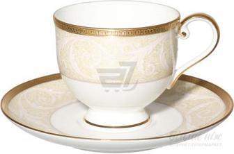Скидка 40% ▷ Чашка з блюдцем Nocturne Gold 110 мл Narumi