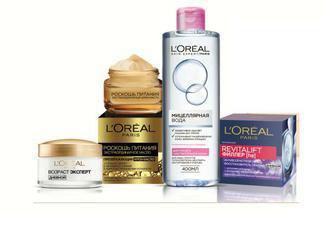 L'Oreal Paris засоби догляду заобличчям